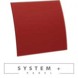 Escudo стекло красный мат